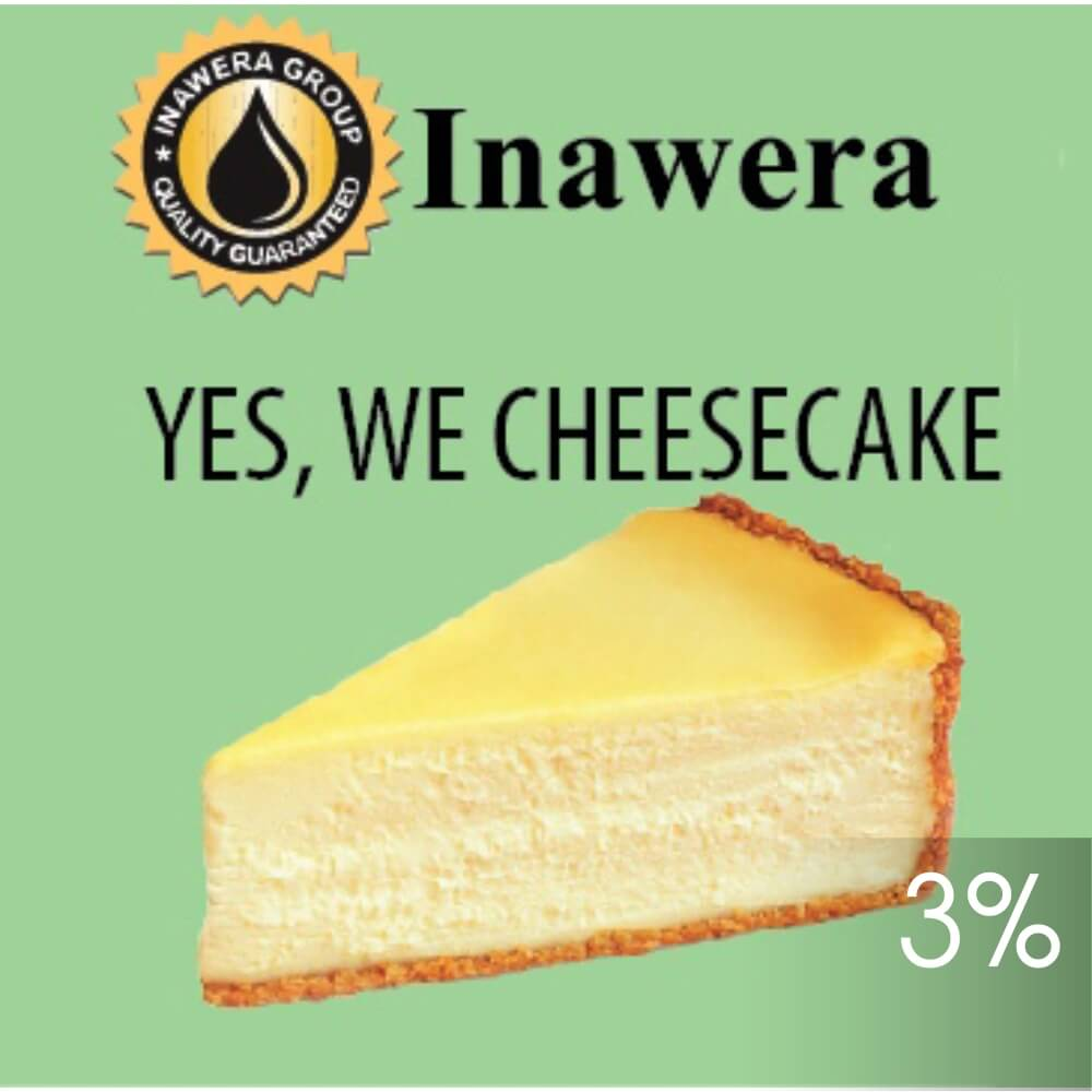 INW Yes, We Cheesecake / Чизкейк 10мл