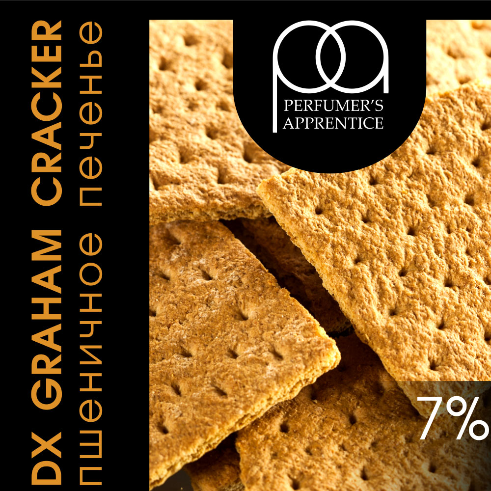 TPA Graham Cracker (Clear) / Пшеничное печенье 10мл