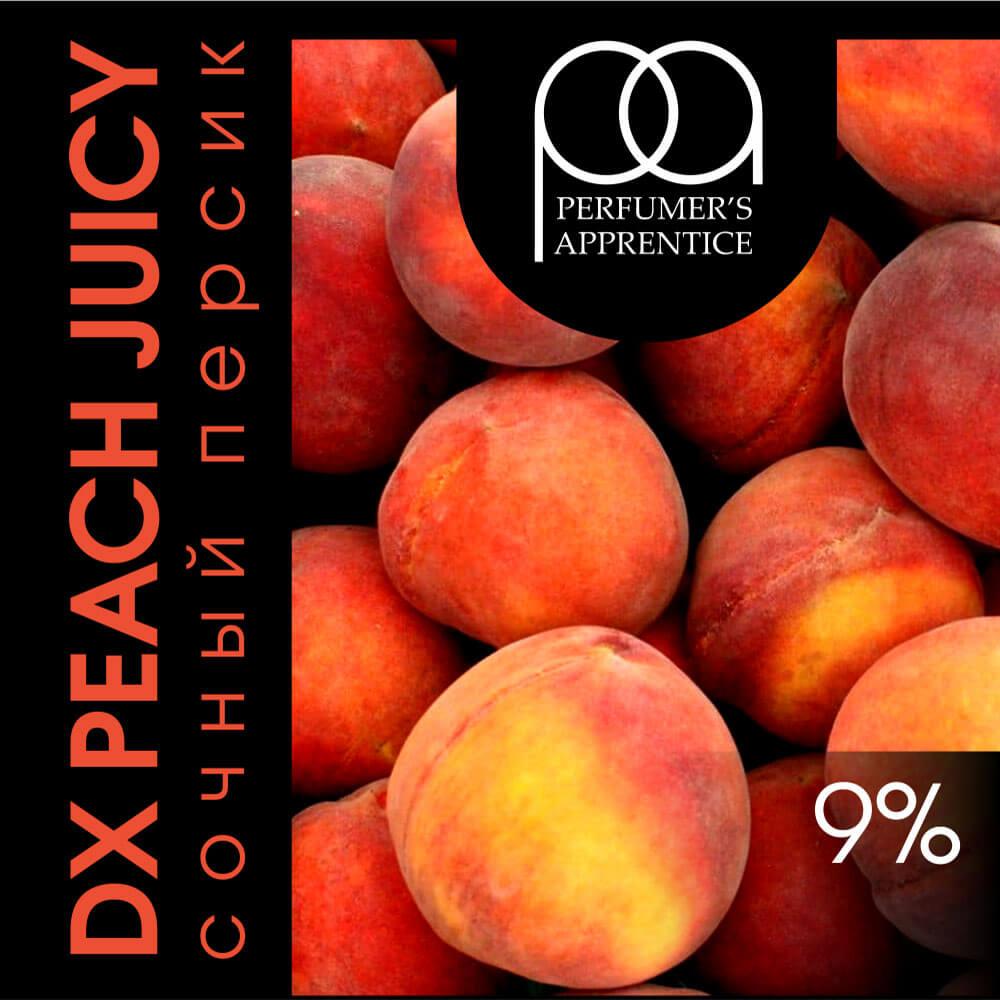TPA Peach (Juicy) / Персик сочный 10мл