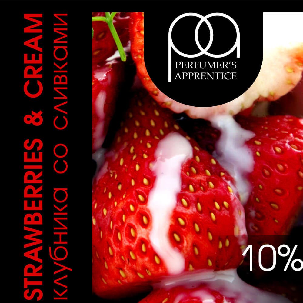 TPA Strawberries and Cream / Клубника со сливками 10мл