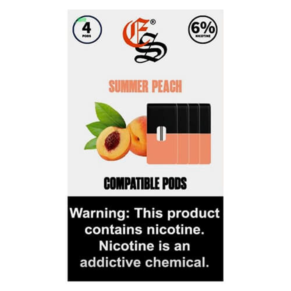 Картридж Eon Smoke Peach для JUUL 6% (4шт)