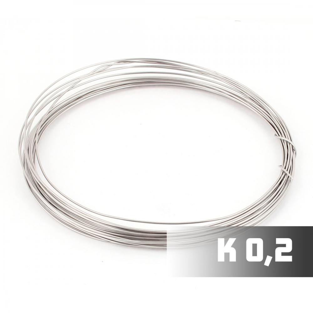 Проволока Кантал 0,2 мм, 1м