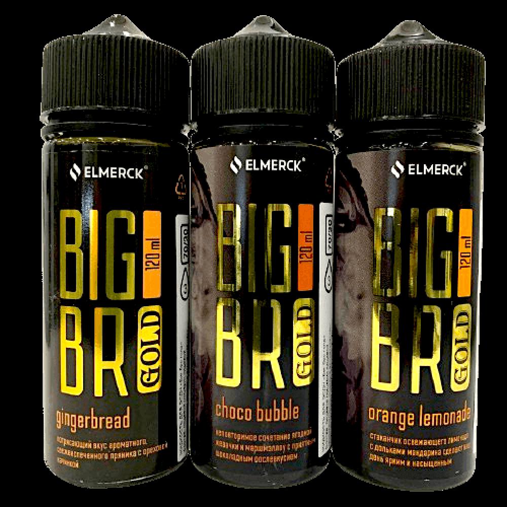 Жидкость BIG BRO GOLD 120мл, 3мг