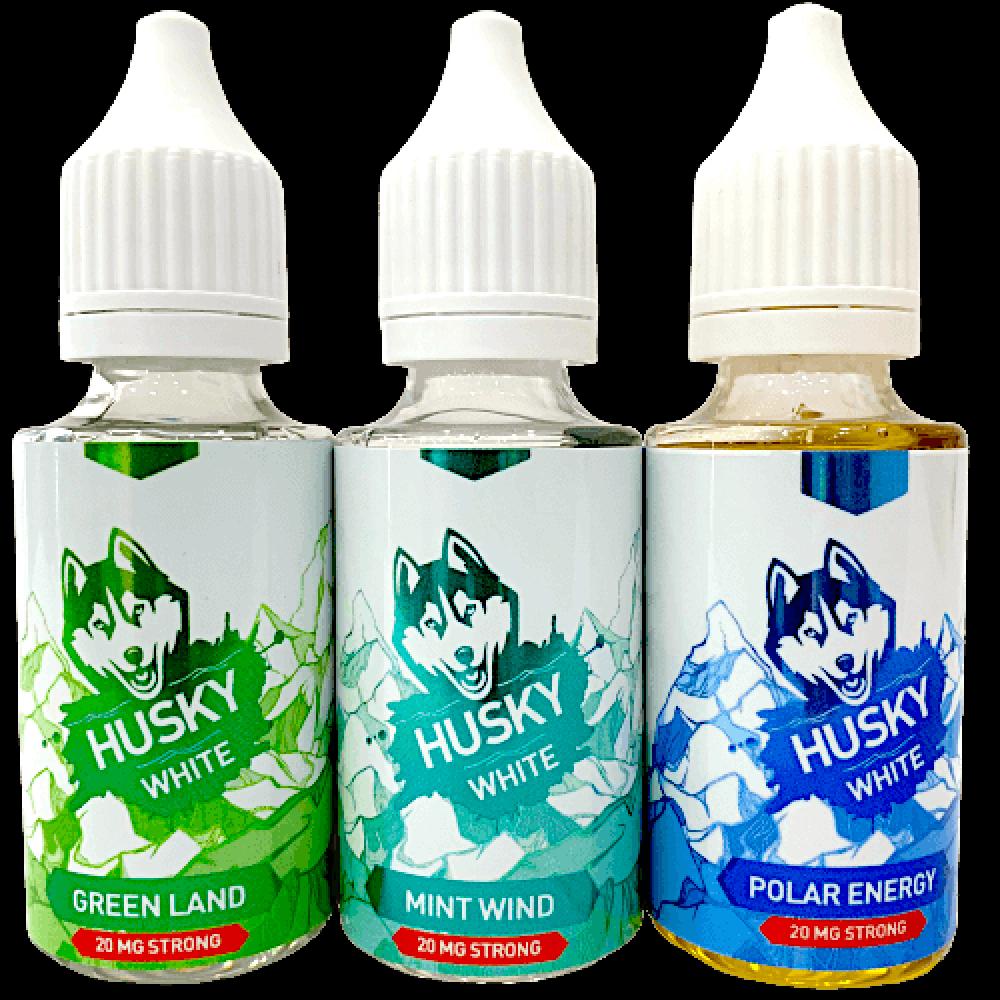 Жидкость HUSKY WHITE SALT 30мл, 45мг