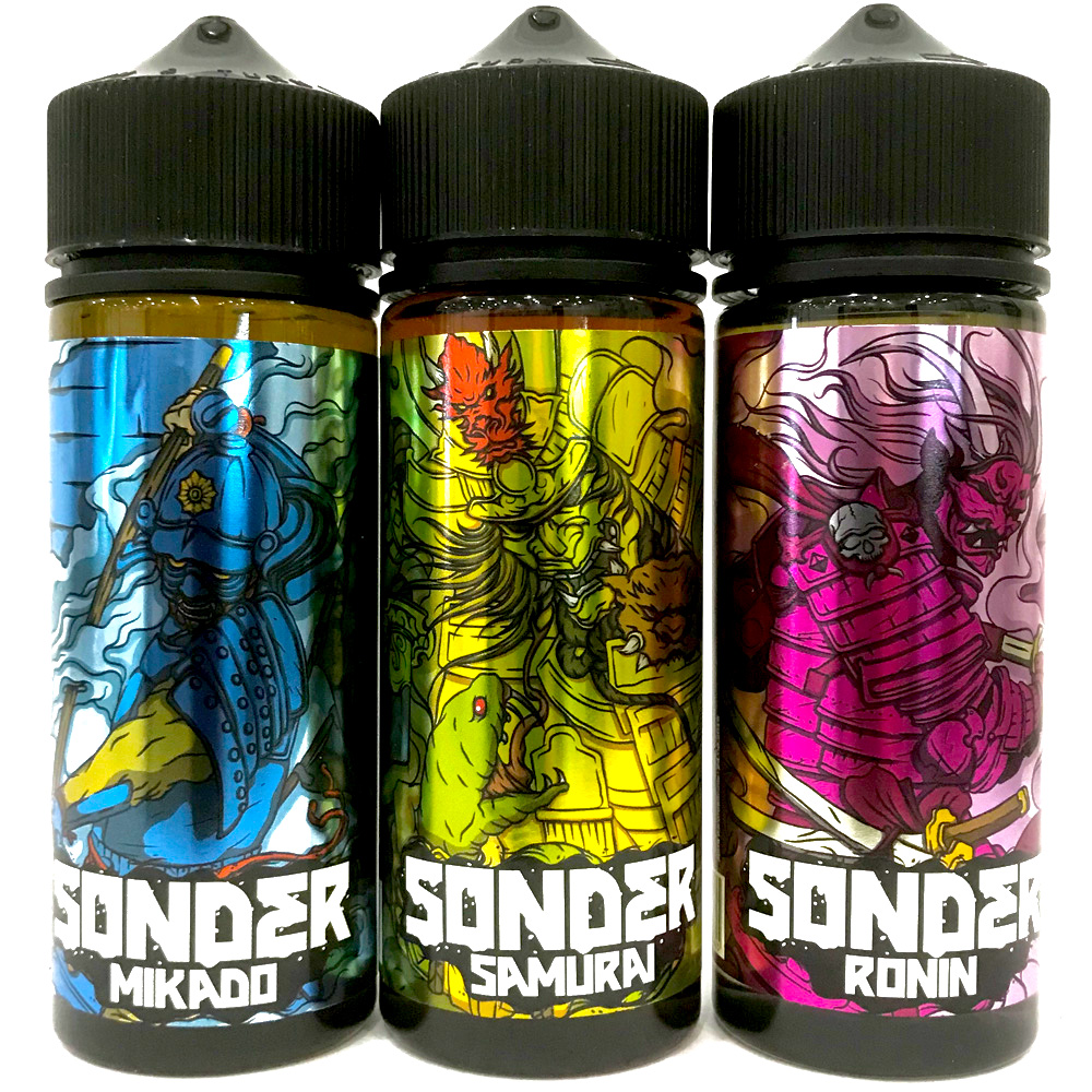 Жидкость SONDER 120мл, 3мг