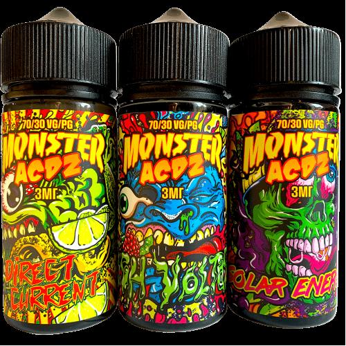 Жидкость Monster ACDZ 100мл, 3мг