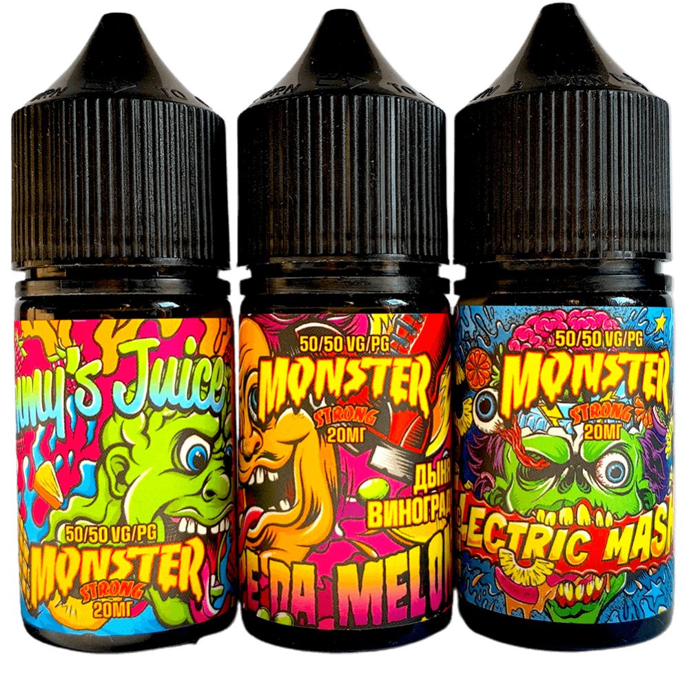 Жидкость Monster SALT 30мл, 20мг / 45мг