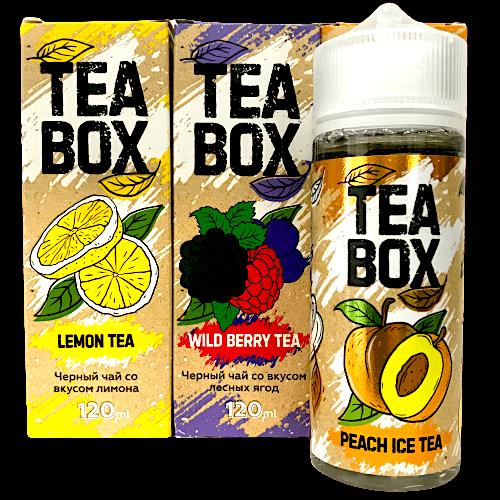 Жидкость TEA BOX 120мл, 3мг