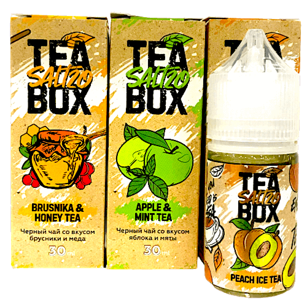 Жидкость TEA BOX SALT 30мл, 25мг